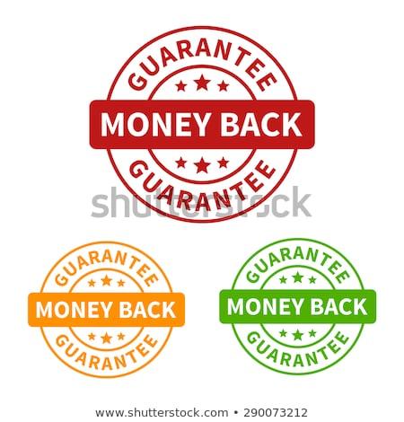 money back green vector icon button stock photo © rizwanali3d