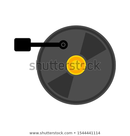 öreg berendezés reprodukció hang izolált vágási körvonal Stock fotó © smuki
