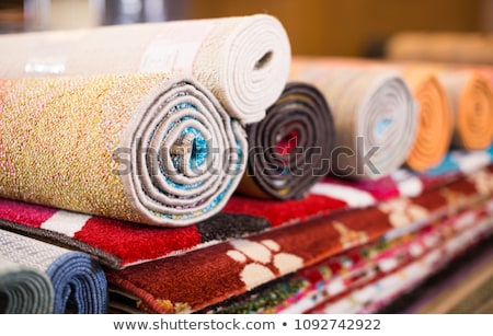 Colorful rugs for sale at store stock photo jasminko for Colorful rugs for sale