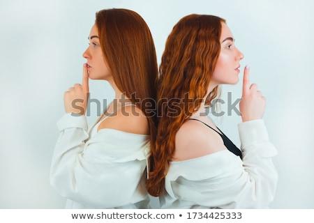 指 二人 触れる 指 人間 オブジェクト ストックフォト © meinzahn