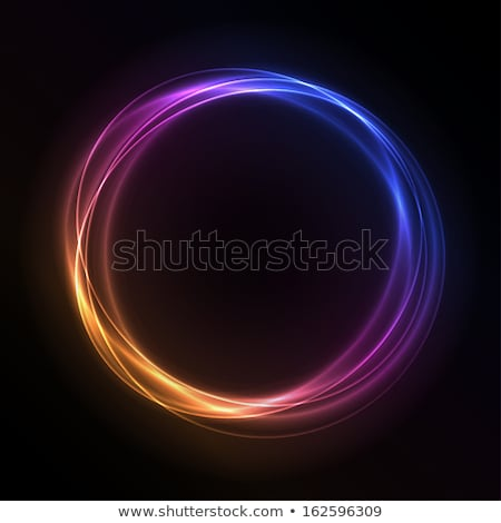 vector glowing colorful circle stock photo © expressvectors