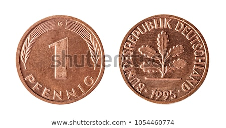 One Pfennig coin from Germany Stock photo © michaklootwijk