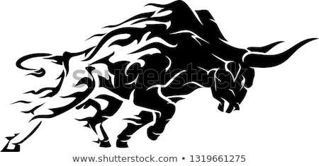 Four bulls Stock photo © bluering