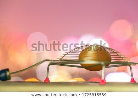 Altın kalp açmak sepet Stok fotoğraf © meinzahn