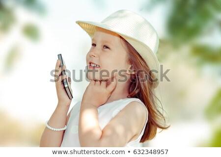 recalling childhood Stock photo © psychoshadow