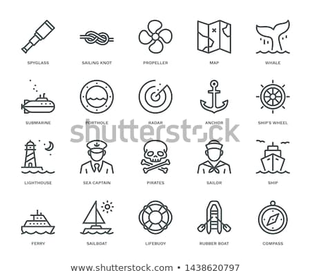 vector pirate pictogram stock photo © dashadima