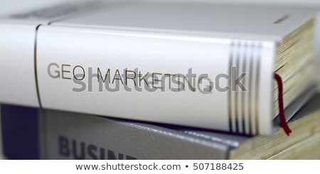 E-marketing Concept. Book Title. 3D. Stock photo © tashatuvango