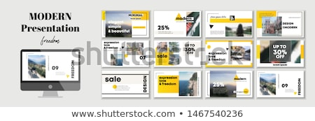 sales plans concept folders in catalog stock photo © tashatuvango