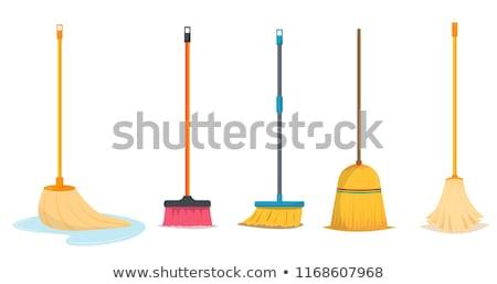 Kısa geleneksel iç temizlemek satış nesne Stok fotoğraf © vrvalerian