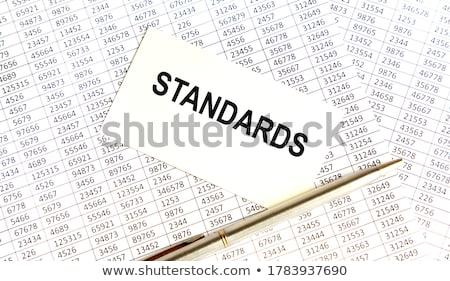 Folder Index with Inscription Catalogs. Stock photo © tashatuvango