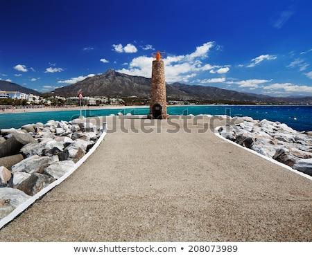 スペイン · マリーナ · 地域 · マラガ · 水 - ストックフォト © luissantos84