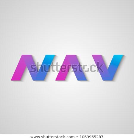 vektor · színes · logo · ikon · virtuális · valuta - stock fotó © tashatuvango