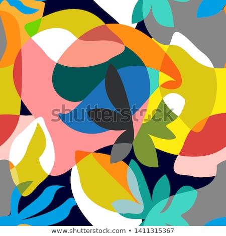 kleurrijk · textiel · asian · straat · markt · winkelen - stockfoto © simply