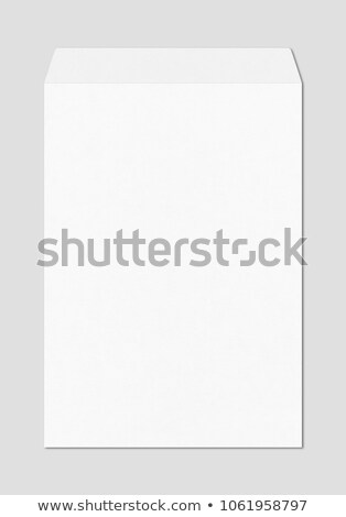 Large A4 white enveloppe mockup template Stock photo © daboost