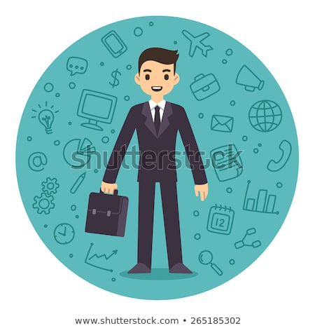 People Managers and Executives Pattern Vector Stock photo © robuart