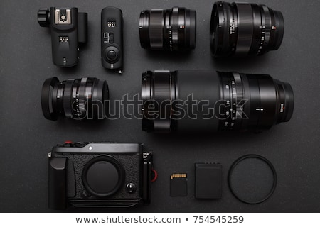Photographers with Cameras and Photo Equipment Stock photo © robuart