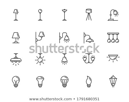 vector set of lamp stock photo © olllikeballoon