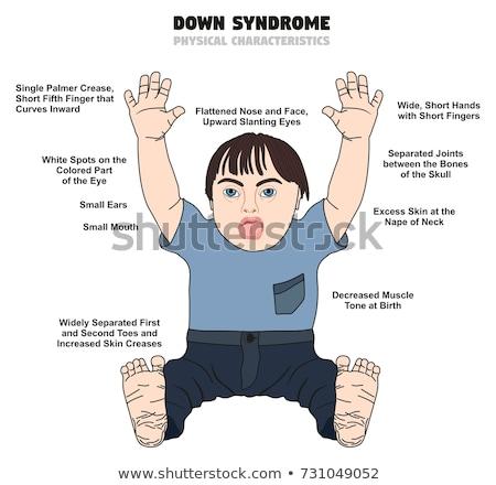Diagrama nino nacido ilustración bebé Foto stock © colematt
