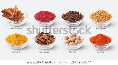 farklı · biber · gıda · mutfak · beyaz · pişirme - stok fotoğraf © grafvision