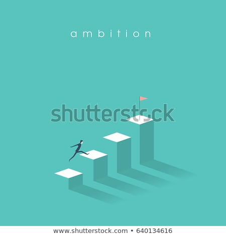 On the way to success concept vector illustration. Stock photo © RAStudio
