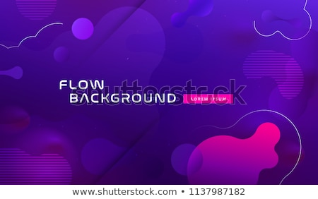 Abstract logo Design with blue horizontal lines. Design print for company business. Stock Vector ill Stock photo © kyryloff