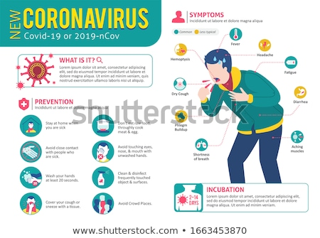 Contagious Infected Person Stock photo © Lightsource
