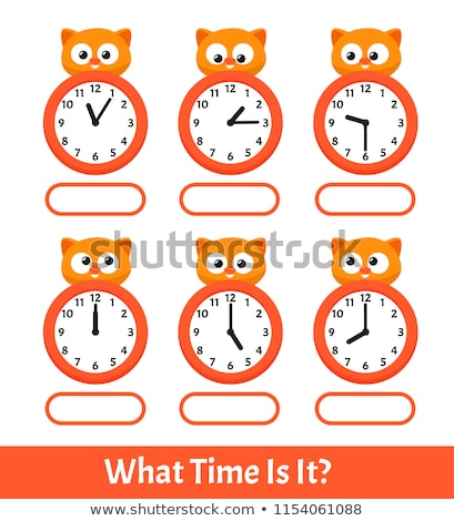 time to learn clock stock photo © kbuntu