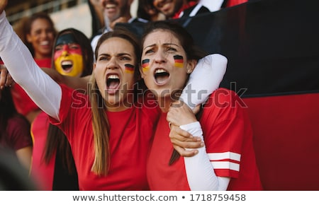 Two German football supporters Stock photo © photography33