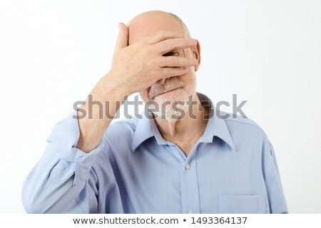 man hiding his face in shame stock photo © photography33