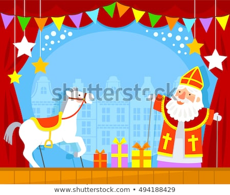 Foto stock: Sinterklaas Puppet