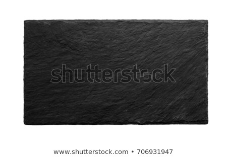 Shale plate on white background Stock photo © brebca