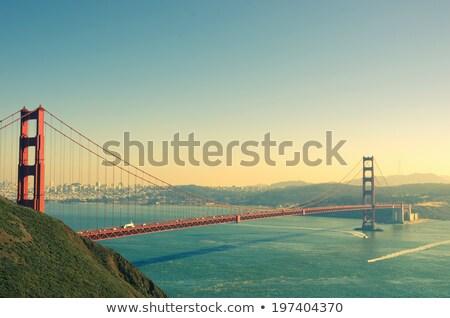 börtön · San · Francisco · víz · város · naplemente · óceán - stock fotó © rglinsky77