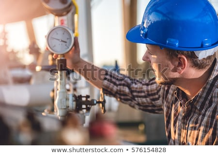 Stock photo: Natural gas