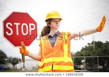 hard · werken · asfalt · bouw · mannen · werken · weg - stockfoto © photography33