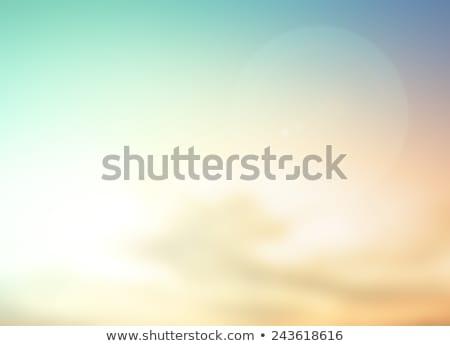 retro · azul · sol · luz · projeto · fundo - foto stock © pashabo
