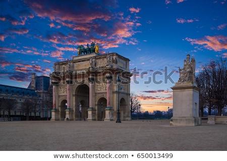 Триумфальная арка арки садов военных строительство путешествия Сток-фото © Roka