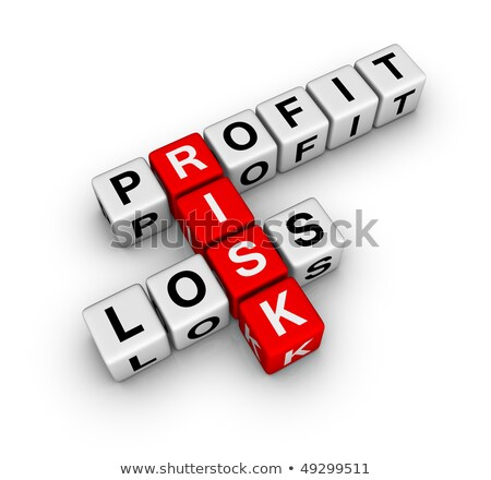 Profit Loss And Risk Stok fotoğraf © ALMAGAMI