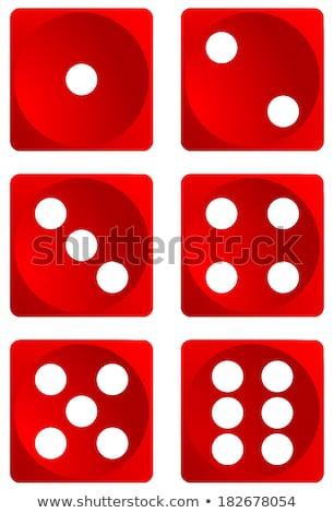 Gambler five dices Stock photo © lunamarina