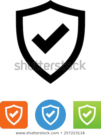 approve coat of arms Stock photo © unkreatives