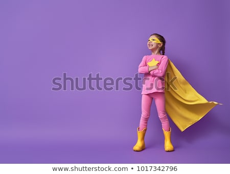 Man with little girl colouring Stock photo © photography33