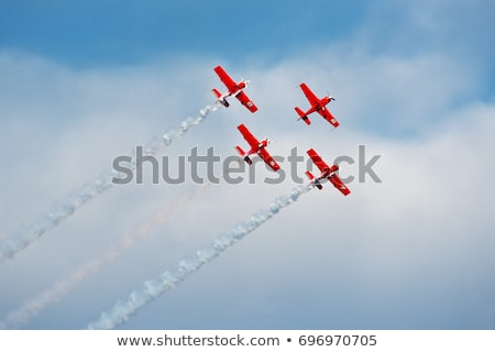 action in the sky during an airshow Stock photo © alex_grichenko