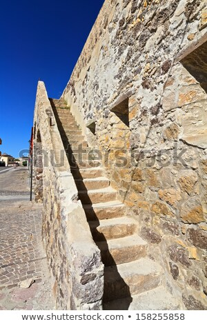 stairway and ancient walls in Carloforte Stock photo © Antonio-S