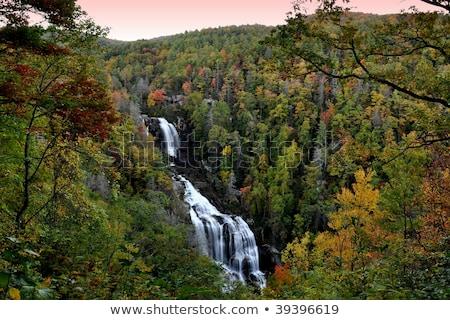 Caroline du Nord été saison eau bleu montagnes Photo stock © alex_grichenko
