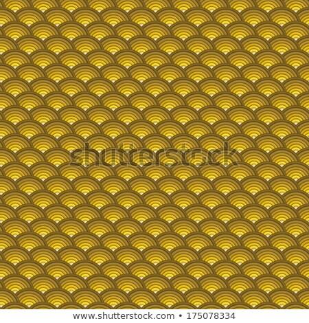 Fond 3D concentrique tuyaux modèle orange Photo stock © Melvin07