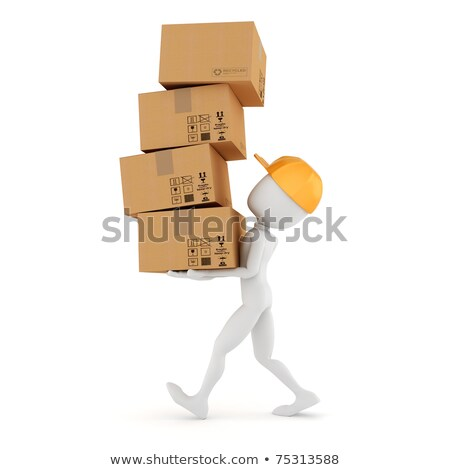 3d man holding closed sign stock photo © designers