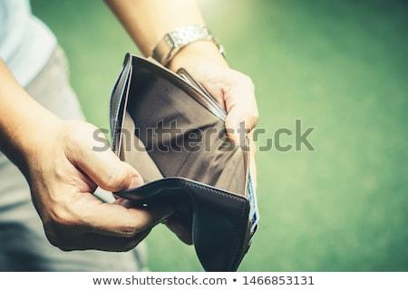 Perder poupança 3D gerado quadro inflação Foto stock © flipfine