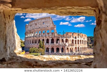 mooie · Italië · roma · hemel · steen - stockfoto © tannjuska