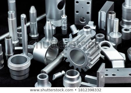 industrial · máquina · abstrato · tecnologia · metal - foto stock © alexeys