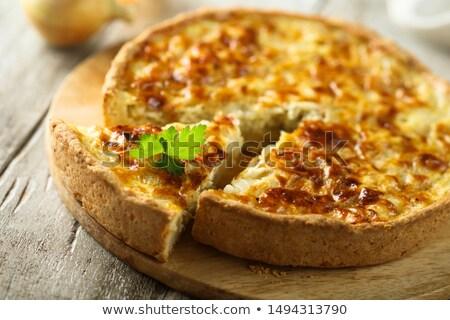 Porro sfondo formaggio colazione fresche pasto Foto d'archivio © M-studio