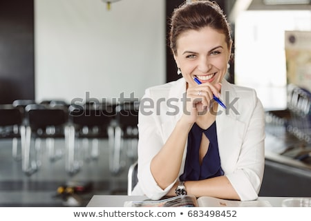 Successful businesswoman Stock photo © Novic